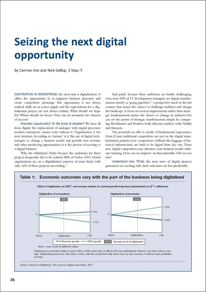 Seizing the next digital opportunity