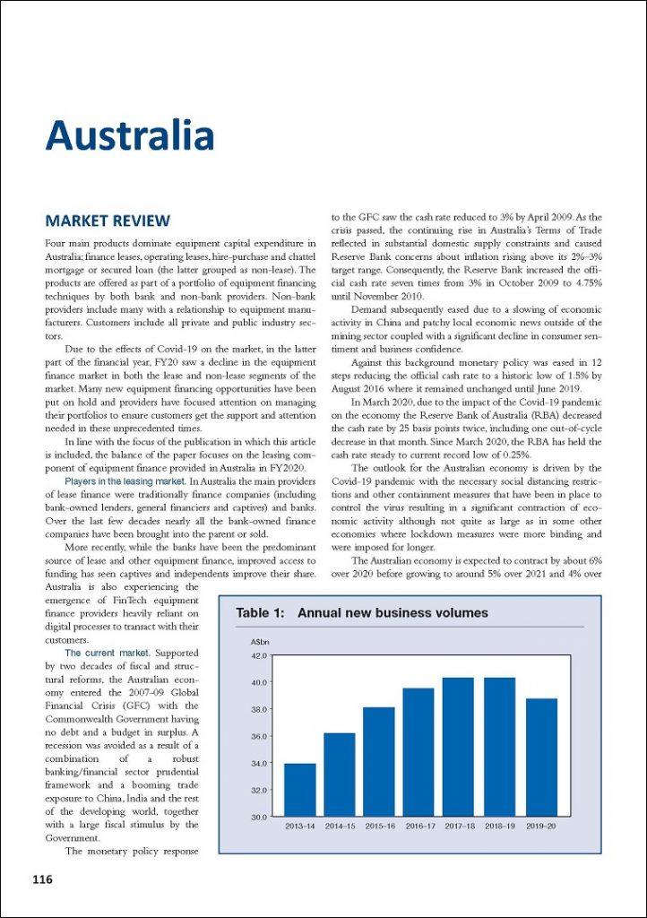Australia Leasing Review